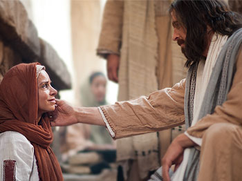Woman healed by the Savior's touch